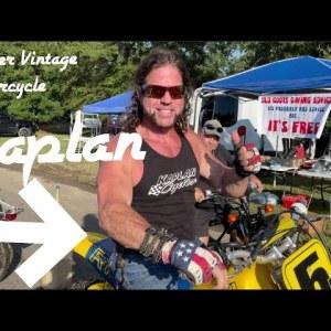 Barber Vintage motorcycle festival with Ken from Kaplan America!