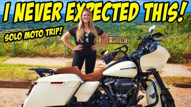 SOLO 800 MILE MOTORCYCLE TRIP TO ARKANSAS! Nothing prepared me for what happens! Travel Alone