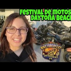 Festival de Motos en DAYTONA BEACH- Biketoberfest 2021
