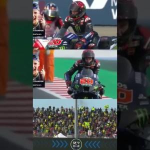Fabio Quartararo Winner World Champions Celebrations 🔥 #shorts #motogp #motorcycle #motorsport