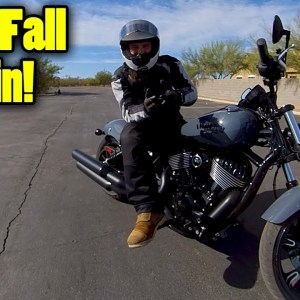 How to Ride a Big Motorcycle Slowly | Motorcycle Training Concepts