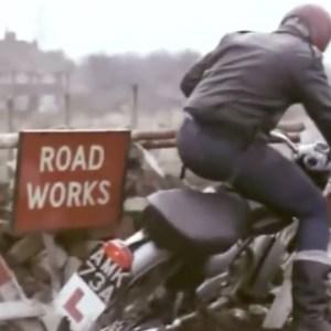 Hilarious British Motorcycle 1965 Safety Film - Vintage Triumph - Norton - BSA