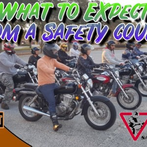 Motorcycle Safety Foundation MSF - What You Can Expect to Do AND LEARN!