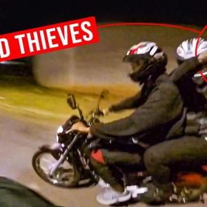 MOTORCYCLE THIEVES WITH GUN vs BIKER   BEST OF THE WEEK 2021