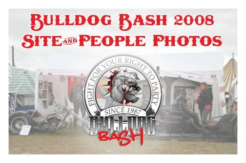 Bulldog Bash 2008 Site Photos