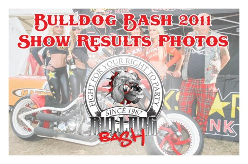 Bulldog Bash 2011 Show Results