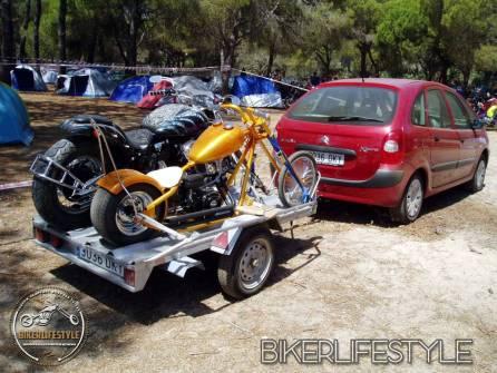 bike on trailers