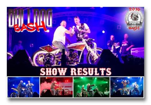 Bulldog Bash 2016 Custom Show Results