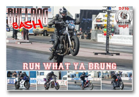 Bulldog 2016 Run what ya brung