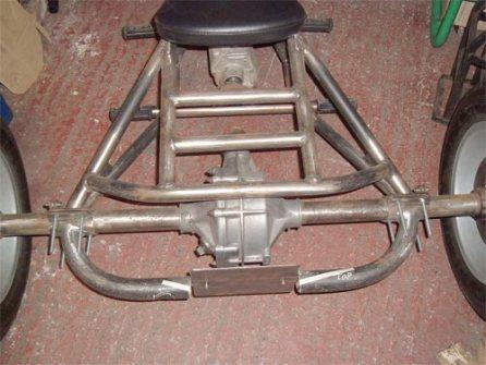 Trike Frame Build - Bikerlifestyle