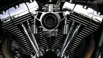 V-Twin Engine Wallpaper