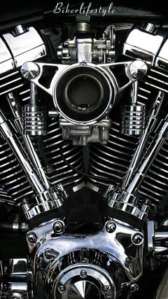 v twin Harley engine