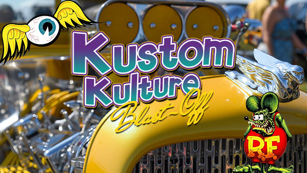 Kustom Kulture Blast off