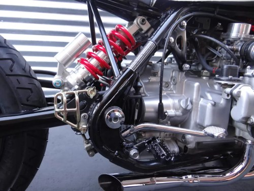 small resolution of custom honda goldwing suspension shock and motor