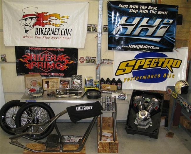 Biker Pros produced the Spectro Oil Giveaway Chopper