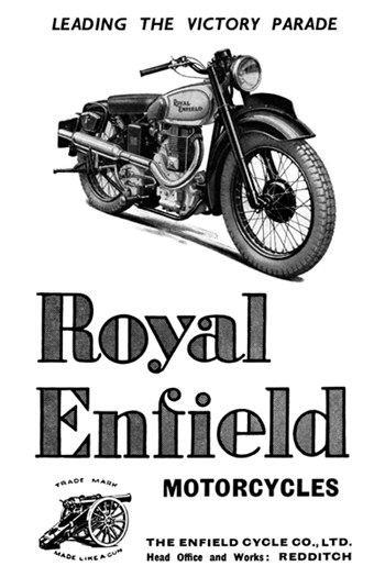 The British Colony Uprising--ROYAL ENFIELD MOTORCYCLES