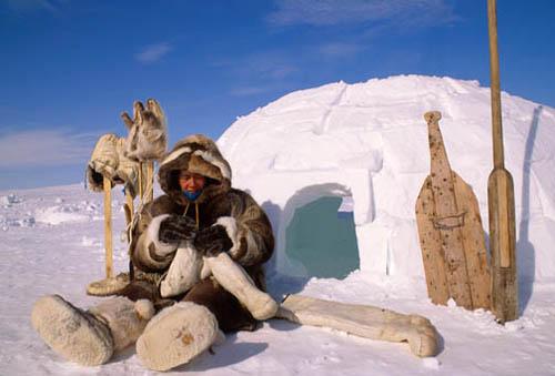 How Do Eskimos Stay Warm