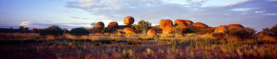 The Devil's Marbles - Cross-Continent Australian outback guided motorcycle adventure