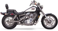 "Cobra 2"" Drag Pipes - Honda Shadow 1100 (87-96)"