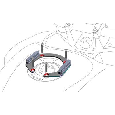 Hepco & Becker Lock it Tankdop ring KTM 990 Superduke R