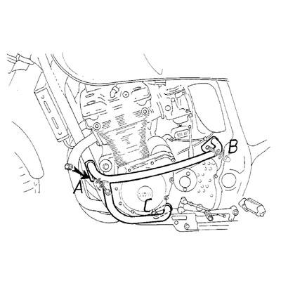 Suzuki GSF 600 S Bandit Valbeugels