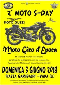 2° S- DAY - Moto Giro d'Epoca - Vada 3 giugno