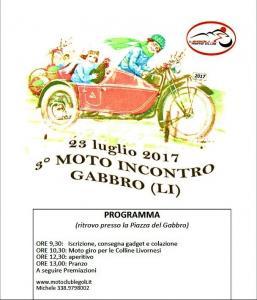 3° moto incontro Gabbro - 23 luglio