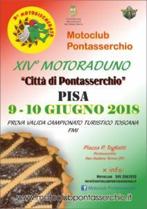 """14° raduno """"Città di Pontasserchio"""" 9-10 giugno 2018"""