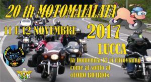 20° MotoMaialata - Lucca  12 Novembre