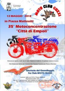 35° motoconcentrazione  città di Empoli - 13 maggio
