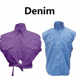 Denim Shirts & Vests