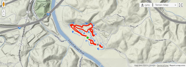 2016 Cyclocross Nationals course preview on the Biltmore Estate in Asheville NC