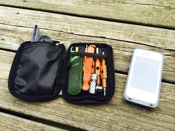 Sticky Pod jersey pocket and hydration pack organizers
