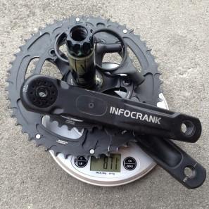 Verve_InfoCrank_power_meter_crankest_complete_system_actual_weight_871g