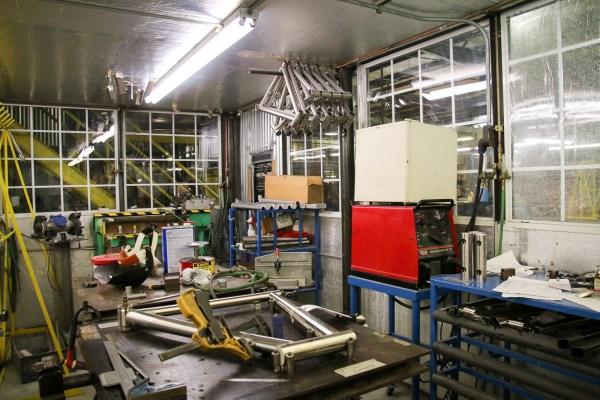 Litespeed titanium bicycle factory tour american bicycle group quintana roo_-111
