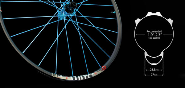 how to choose the right mountain bike tire width for your rim