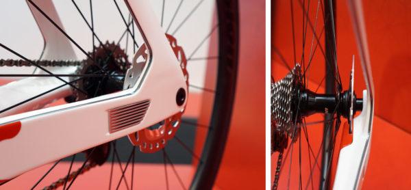 argon 18 FWD Alpha concept aero bike with integrated CDA drag detector
