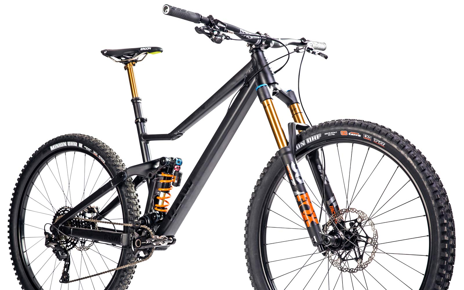 Get RAAW with 160mm of the new Madonna of enduro mountain