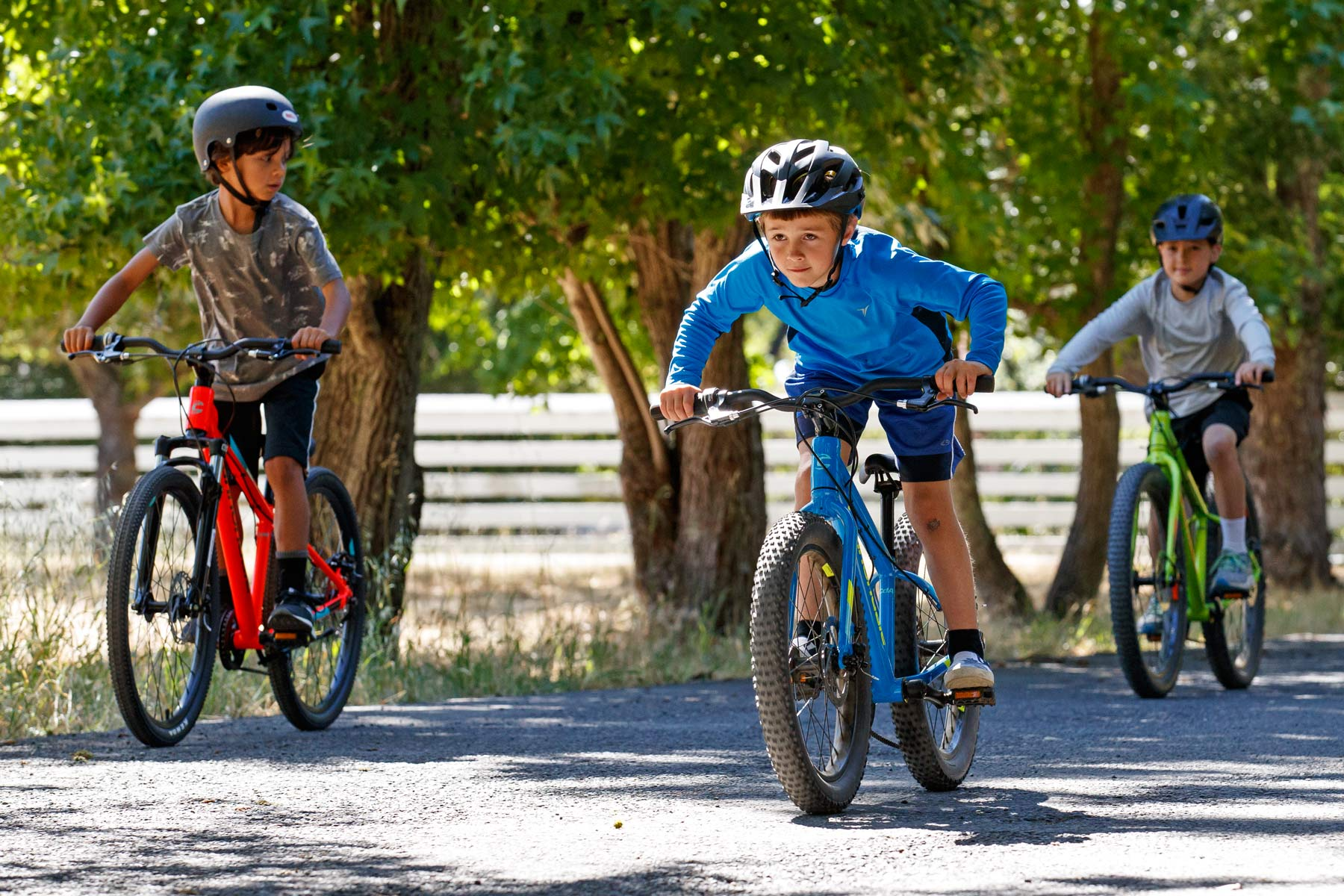 Toddlers Ride Kid Correct On A Lefty With Cannondale Trail