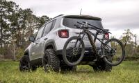 Avid Essentials' fully retractable bike rack hides in the ...