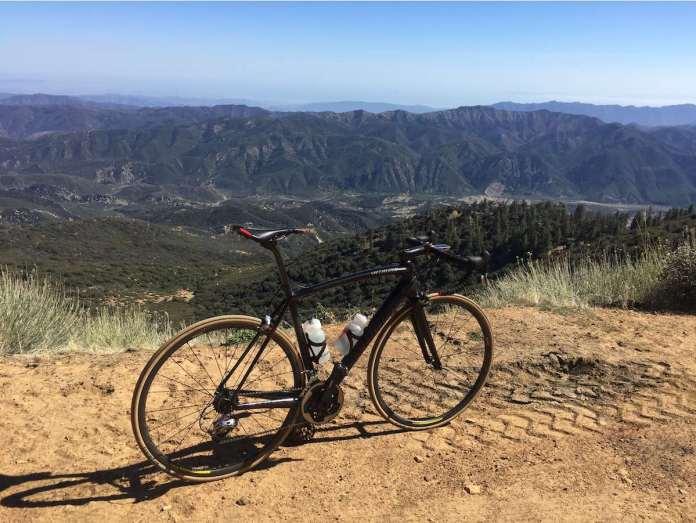 bikerumor pic of the day Reyes Peak, Ventura County, California cycling.