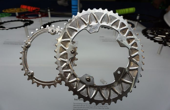 subcompact oval chainring combo for gravel bikes from absoluteblack