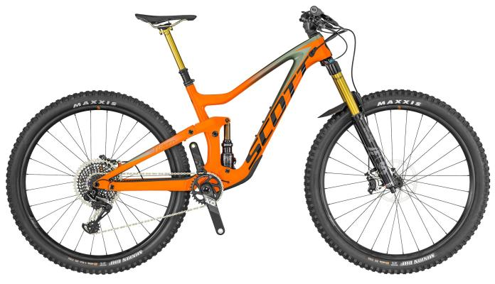 2019 Scott Ransom long travel 29er all-mountain enduro bike