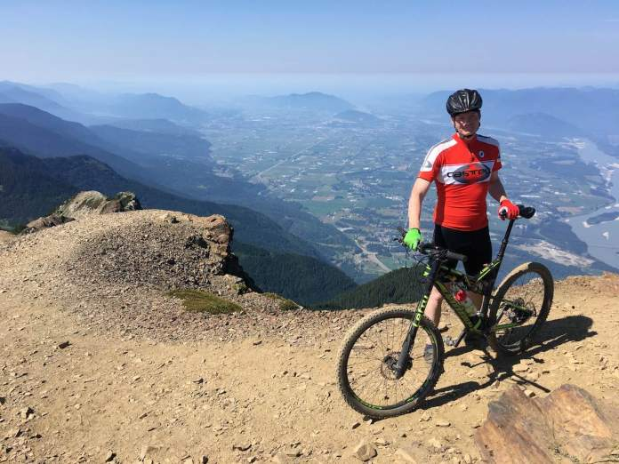 bikerumor pic of the day Mount Cheam in British Columbia, Canada