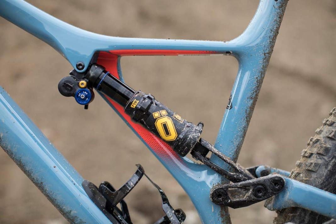 2019 Ohlins TTX Air rear mountain bike shock tech specs and details