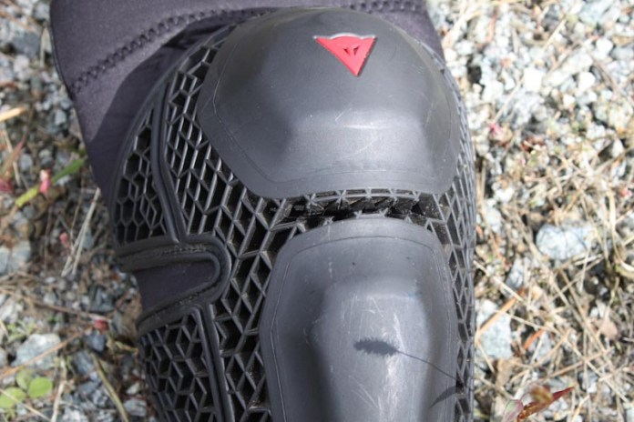 Dainese Enduro Knee Guards, modification