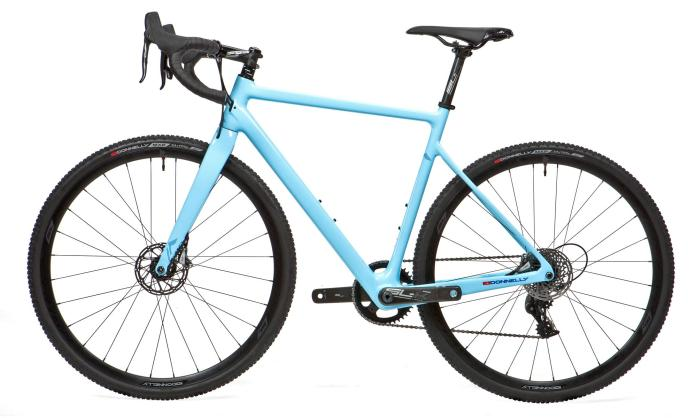 Donnelly C//C carbon cyclocross bike, Amy D Blue edition