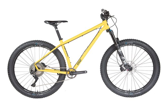 Hayduke Lives! Esker Cycles re-releases steel hardtail w/ lighter frame, new geo