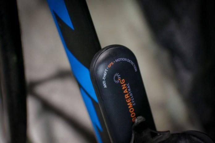 Boomerang GPS Bike Security may help bring your bike back if stolen