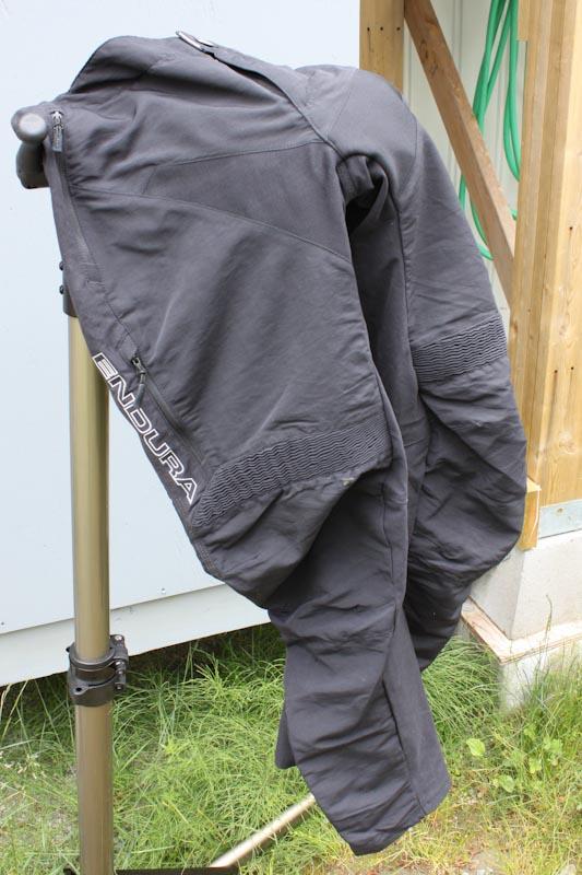 Endura Singletrack Trail Pants, hanging